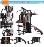 Strumentazione domestica multifunzionale Es-409b (una stazione di ginnastica di vendita calda con la pila 45kgs dei pesi)