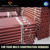 Apoyo de acero durable seguro del apuntalamiento en el proyecto de Constrution