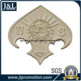 L'émail transparent de pièce de monnaie en alliage de zinc de moulage mécanique sous pression, forme irrégulière