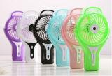 Portable aufladenatomisierender USB-Miniventilator mit dem Wind mit 3 Stufen beschleunigen-Rosafarben