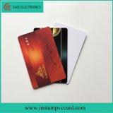 Carte imprimable de PVC de l'IDENTIFICATION RF Tk4100 de jet d'encre lustré