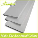 Plafonds en aluminium suspendus de bande en métal en bois