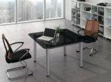 Table de réunion en bois droite moderne chaude pour la conférence