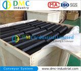 Rulli del trasportatore del nero del tenditore del trasportatore di UHMWPE per movimentazione dei materiali all'ingrosso