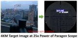 Стрельба длиннего ряда ясности 4km тактическое Riflescope наградного высокого качества парагона 5-25X56 оптики вектора супер острое с немецким стеклом Schott для звероловства