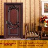 Porte intérieure en bois massif à une seule feuille (GSP2-005)