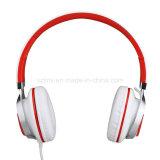 Leichtgewichtler, der 3.5mm Stereolithographie Über-Ohr bewegliche Ausdehnungs-Kopfhörer mit Aufbauen-in Mikrofon faltet