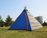 Tenda di campeggio indiana per la tenda della spiaggia delle persone 3-4