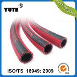 Mangueira de ar de borracha vermelha resistente ao calor flexível de 3/8 de polegada de Yute