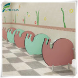 لون قرنفل قوقع شكل أطفال مرحاض مبولة [برتيأيشن/] إتفاق نضيدة لوح