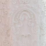 Il merletto di Tulle dei branelli del lusso SL-29 Appliques il vestito da cerimonia nuziale della sirena 2017