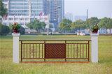 Balcón de acero galvanizado decorativo de alta calidad 5 que cercan con barandilla de la aleación de Haohan Alluminum