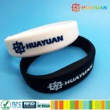 Wristband classico del braccialetto RFID della piscina MIFARE 1K NFC di forma fisica di ginnastica