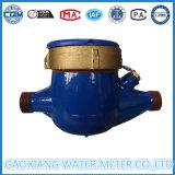 Счетчик воды латунного двигателя тела Multi механически
