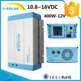 Shi-400W-12V/24V-220V 10.8~16VDC solar del inversor de la red con Ce-Rhos Shi-400W-12