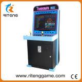 Pequeña máquina de juego video de la cabina de la arcada de Taito del metal