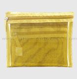 Madame Travel de fournisseur de la Chine composent le sac de produit de beauté de renivellement de réseau de maille de sac