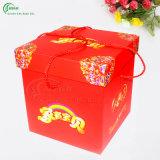 カスタムロゴの印刷の結婚祝いボックス(KG-PX048)