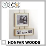 Bâti en bois de photo d'illustration de décoration de bureau pour la pièce d'invité d'hôtel