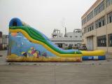 大きいイベント大人および子供のための膨脹可能な公園水スライド