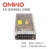 Bloc d'alimentation à sortie unique 10V 10A de commutateur de C.C à C.A. Wxe-100s-10