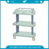 AG-Lpt003A tres capas Mobile Hospital Medical Equipment Trolley