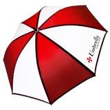 Оптовый изготовленный на заказ напольный зонтик гольфа для промотирования