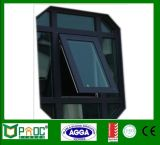 Doppeltes glasig-glänzendes Aluminiummarkisen-Fenster Aluminiumwindows Pnoc0120thw