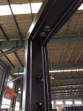 Disegno del portello di sicurezza del metallo della casa di prezzi ragionevoli singolo