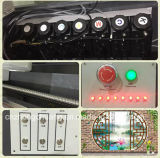 Embosser 효력을%s 가진 가장 새로운 UV 전화 상자/금속 평상형 트레일러 인쇄 기계