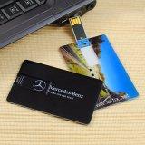 EPT 2017 passte Firmenzeichen-Kreditkarte-Form USB-Blitz-Laufwerk mit freier Probe an