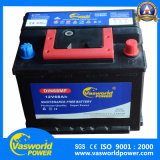 Janpanese 자동차 배터리를 위한 좋은 품질 유지 보수가 필요 없는 건전지