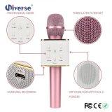 Microphone sans fil de karaoke avec les haut-parleurs duels de haute qualité