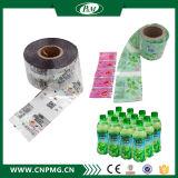 De naar maat gemaakte Hete Plastic Fles van pvc van de Verkoop krimpt Etiket