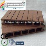 Decking da qualidade barata, boa WPC, Decking composto plástico de madeira Anti-UV