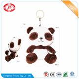 Animal de hérisson bourré par jouet minuscule de trousseau de clés de peluche de décoration
