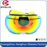 De dubbele Beschermende brillen van de Sneeuw van de Laag Sferische 100% UV Beschermende AntiBeschermende brillen van de Ski van Snowboarding van de Mist