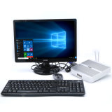 Mini ordenador rugoso de la base I5 4200u de Intel de la PC de Fanless pequeño con el RAM 4G y SSD 128g
