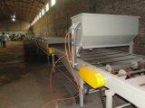 Toiture enduite de pierre colorée faisant la chaîne de production