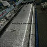 Tela Roving tecida planície Ewr400 do vidro de fibra do E-Vidro