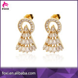 2016 neufs la plus défunte boucle d'oreille de l'or conçoit la boucle d'oreille de bijou d'or de Dubaï
