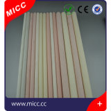 Micc tubo di ceramica personalizzato dell'allumina di elevata purezza