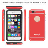Ultra Thin Metal Waterproof Cell Phone Back Cover caso protetor para iPhone 6 4.7inch (RPTMLPRO-6G)