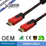 Sipuの卸売サポート1080P 3D高速ナイロンHDMIケーブル