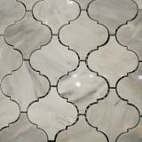 Migliori mattonelle di mosaico della lanterna del marmo della pietra della natura di qualità della fabbrica Ms-142