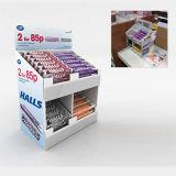 Supermarkt-Plätzchen-Pappbildschirmanzeige-Zahnstange