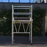 Mobile Tower System Single Width Echafaudage en aluminium