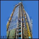 Ascenseur de construction électrique à cage simple avec Ce
