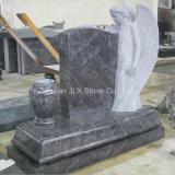 Monumento azul americano do anjo do granito de Bahama