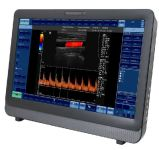 2017管病院のクリニックのための最新のタッチスクリーンカラードップラー超音波